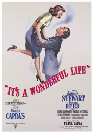 Framed It's a Wonderful Life Frank Capra Print