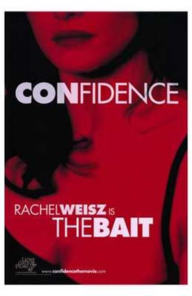 Framed Confidence - red Print