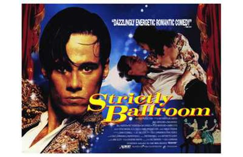Framed Strictly Ballroom Romantic Comedy Print