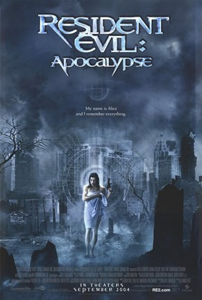 Framed Resident Evil: Apocalypse Movie Print