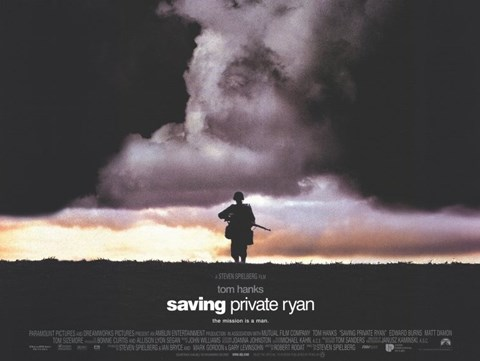 Framed Saving Private Ryan - Horizontal Print