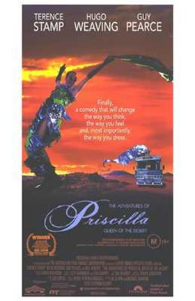 Framed Adventures of Priscilla  Movie Poster Print
