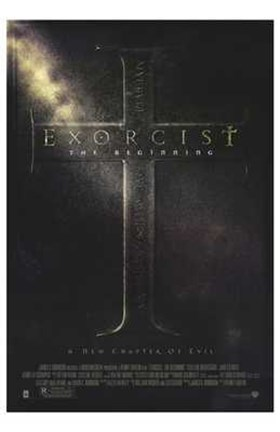 Framed Exorcist: the Beginning Print