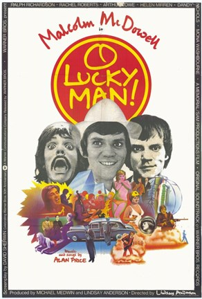 Framed O Lucky Man! Print