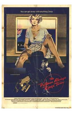 Framed Postman Always Rings Twice Get Away with Anything Print