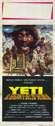Framed Yeti: the Giant of the 20Th Century Print