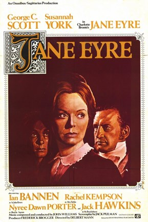 Framed Jane Eyre Print