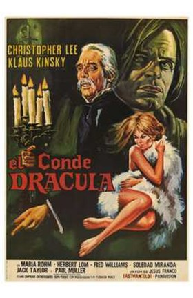 Framed Count Dracula Print