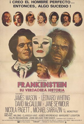 Framed Frankenstein: the True Story Print