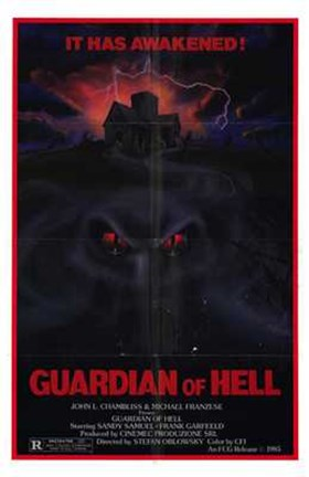 Framed Guardian of Hell Print