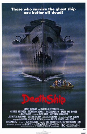 Framed Death Ship Print