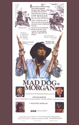 Framed Mad Dog Morgan Print