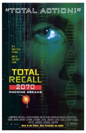 Framed Total Recall 2070 Print