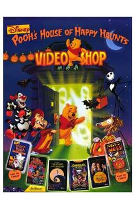 Framed Disney Video Posters - Video shop Print