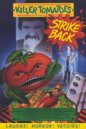 Framed Killer Tomatoes Strike Back! Print
