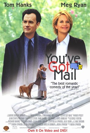Framed You've Got Mail Print