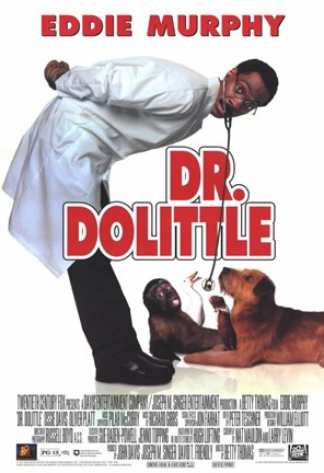 Framed Dr Dolittle Print