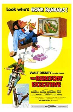 Framed Barefoot Executive Print