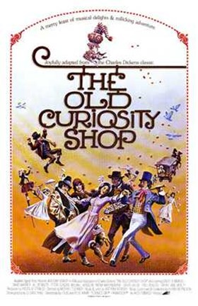 Framed Old Curiosity Shop Print