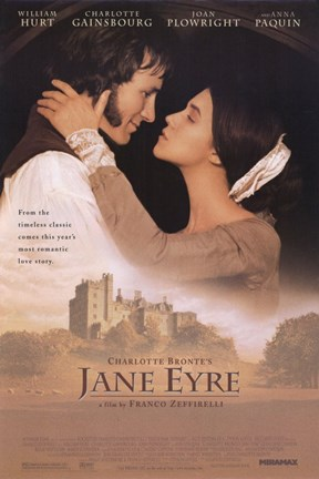 Framed Jane Eyre William Hurt Print