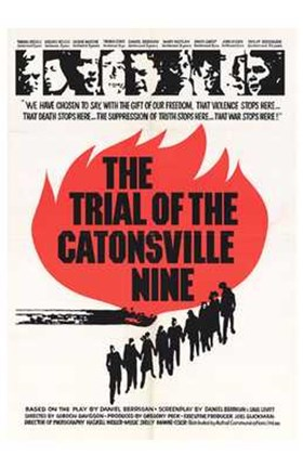 Framed Trial of the Catonsville Nine Print
