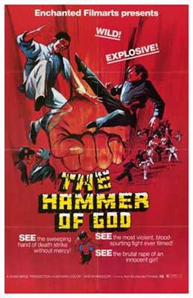 Framed Hammer of God Print