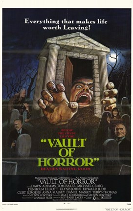Framed Vault of Horror Print