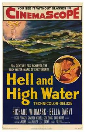Framed Hell and High Water Print