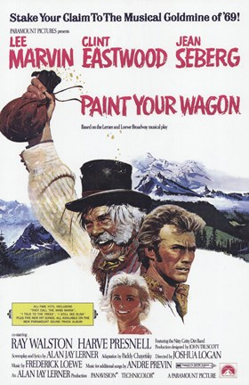 Framed Paint Your Wagon Print