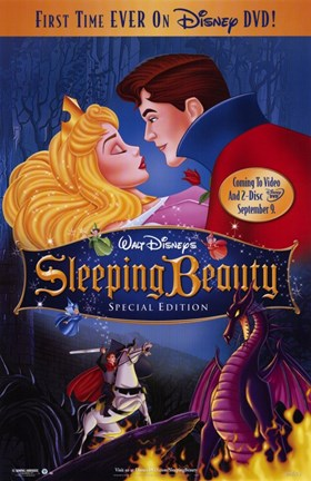 Framed Sleeping Beauty On Sale Print