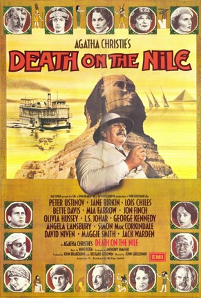 Framed Death on the Nile Peter Ustinov Print