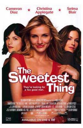 Framed Sweetest Thing Cameron Diaz Print
