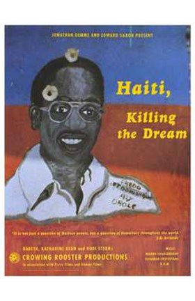 Framed Haiti  Killing the Dream Print