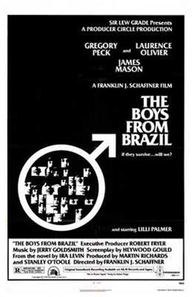 Framed Boys from Brazil Print