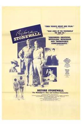 Framed Before Stonewall Print