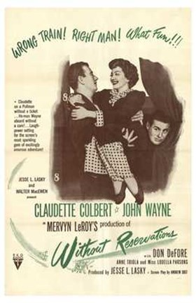 Framed Without Reservations - movie poster Print