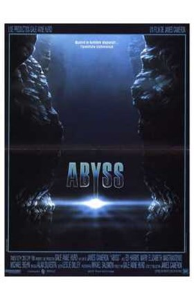 Framed Abyss Underwater Print