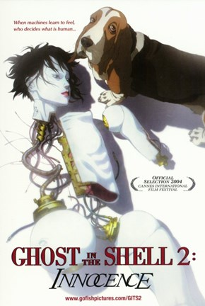 Framed Ghost in the Shell 2: Innocence Print