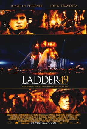 Framed Ladder 49 Phoenix Travolta Print