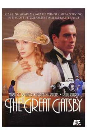 Framed Great Gatsby Paul Rudd Print