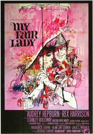 Framed My Fair Lady - umbrella Print