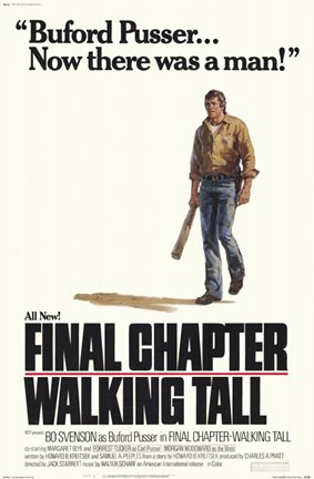 Framed Walking Tall-Final Chapter Print