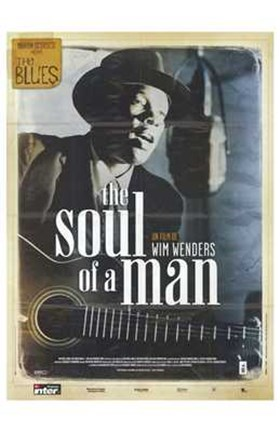Framed Blues  the (Mini-Series) - Soul of a man Print