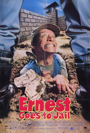 Framed Ernest Goes to Jail Print