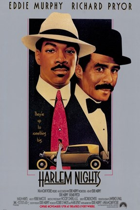 Framed Harlem Nights Print