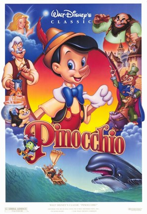 Pinocchio Vhs Wall Poster By Unknown At Fulcrumgallery Com