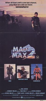Framed Road Warrior Mad Max 2 Print