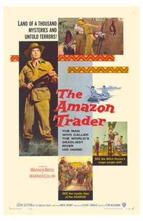Framed Amazon Trader Print