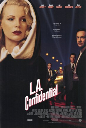 Framed La Confidential Print