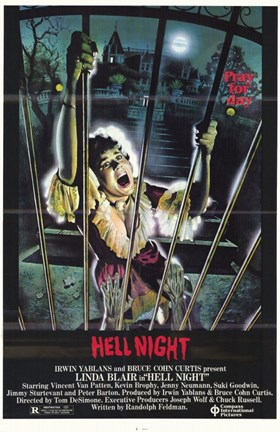 Framed Hell Night Print